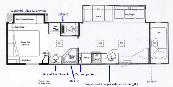 Toterhome Floor Plans
