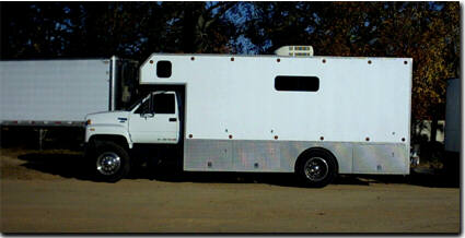 Moving Truck: Moving Truck Motorhome Conversion